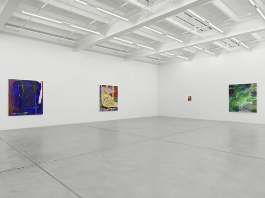 Shara Hughes: Don't Hold Your Breath, installation view