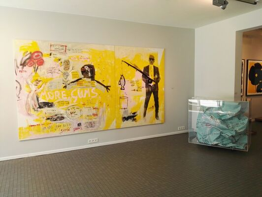 PopArt Group Show, installation view
