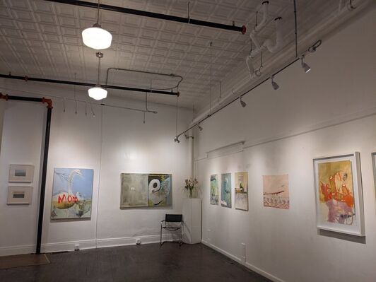 Women's Wave: Paintings by Dorothy Fitzgerald, installation view
