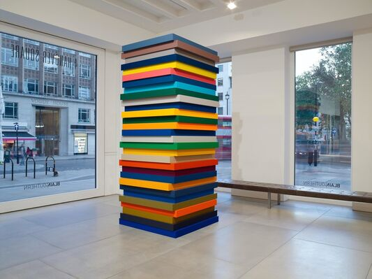 Sean Scully: Uninsideout, installation view