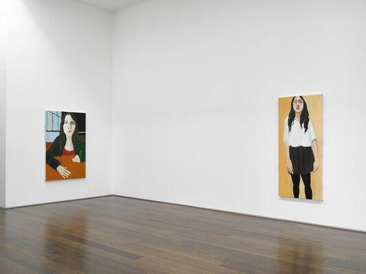 Chantal Joffe, installation view