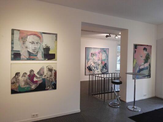 Simon Nelke - Aufbruch zum Anfang, installation view