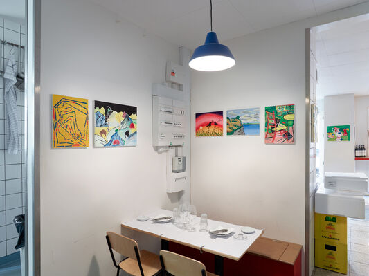 Extended Versions, installation view