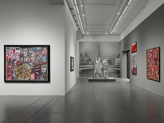Jean Dubuffet and the City, installation view