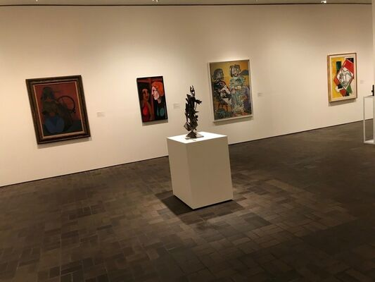 Then and Now: Modern and Contemporary Selections from the Permanent Collection, installation view