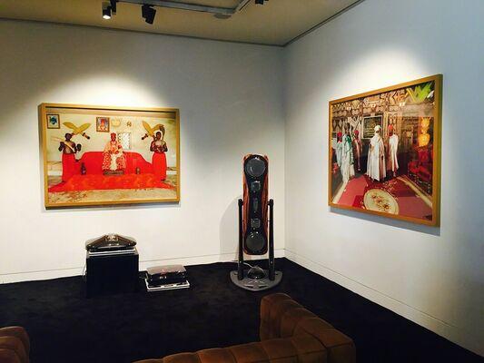 Exhibition of Nigeria Monarchs, installation view
