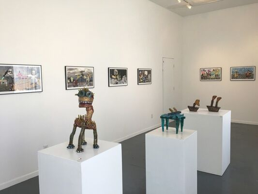 Failed Repression: I Tried to Make This Pleasant, installation view