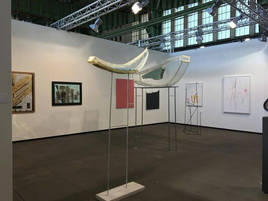 Christine König Galerie at art berlin 2018, installation view