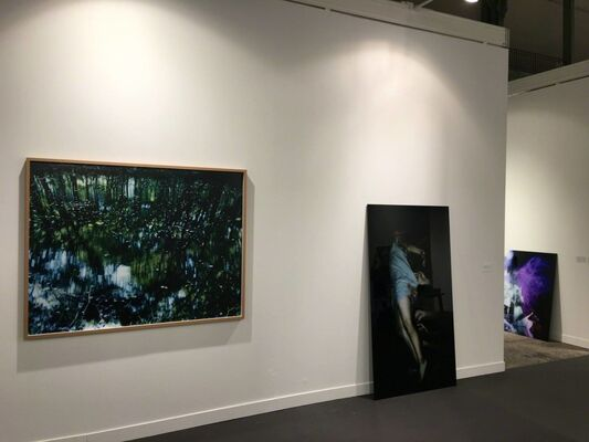 Christophe Guye Galerie at Paris Photo 2016, installation view