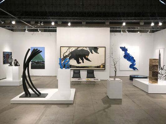 Paul Kasmin Gallery at EXPO CHICAGO 2017, installation view