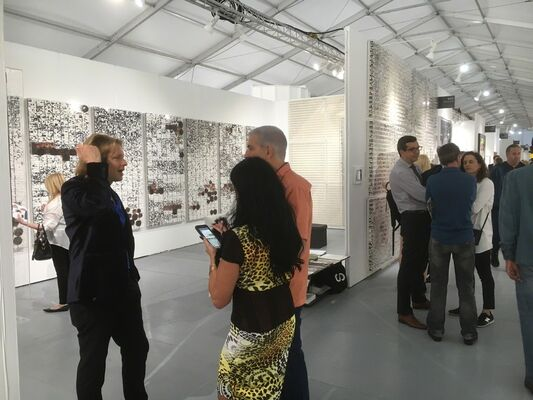 Space 776 at SCOPE Miami Beach 2016, installation view