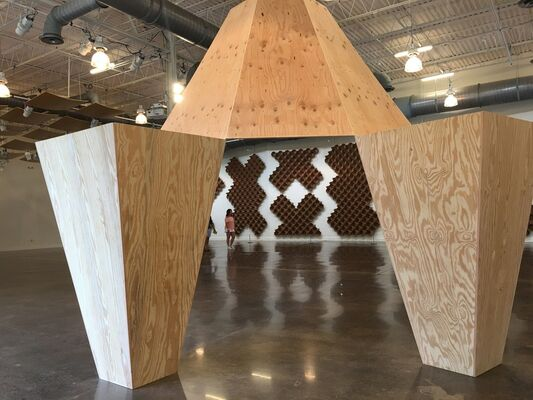 James Carl: oof, installation view