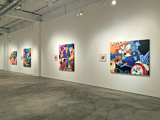 Kevin T. Kelly: Kicking Against the Pricks, installation view