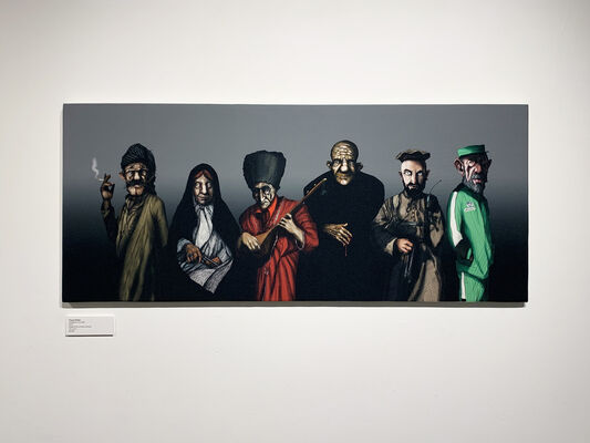 OUT OF CHARACTER, Solo Exhibition by Pouya Afshar, installation view