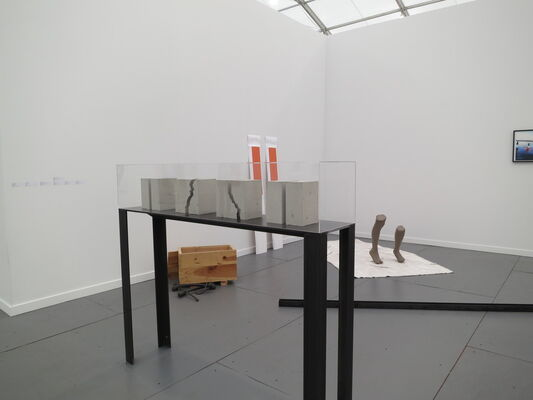 Galerie Jocelyn Wolff at Frieze NY 2014, installation view