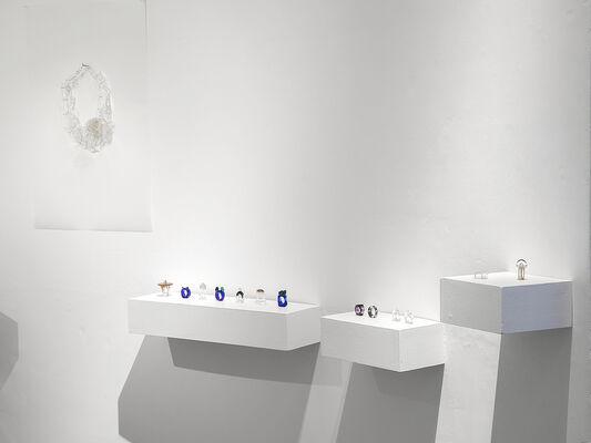 "Vol.112 Kazuko Mitsushima ""white jewel x daily life"", installation view"