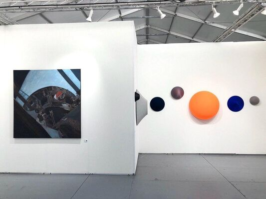 a-s-t-r-a at SCOPE Miami Beach 2019, installation view