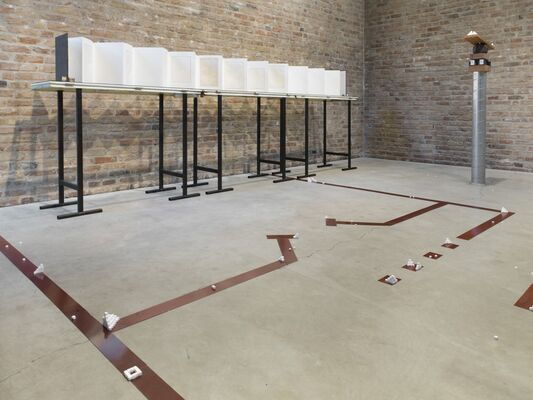 MICOL ASSAËL | STONE BROKEN CIRCUIT, installation view