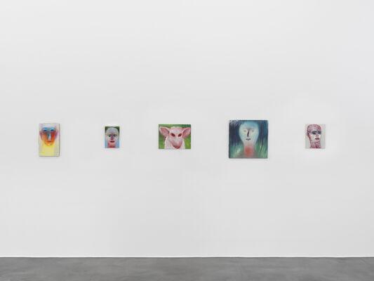 Miriam Cahn, installation view