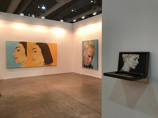 Javier Lopez & Fer Frances at ZⓈONAMACO 2019, installation view