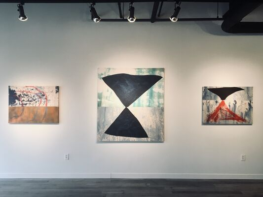 Growth in an Hourglass, installation view