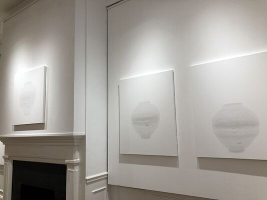 Hangul and the Spaces Between, installation view