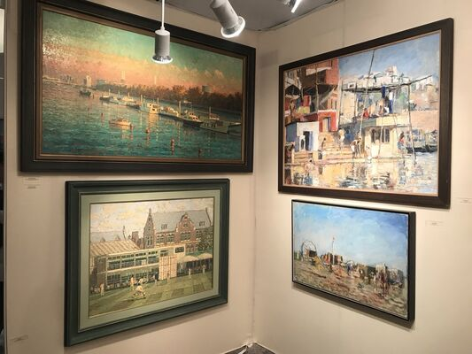 Tanya Baxter Contemporary at The Mayfair Antique & Fine Art Fair 2020, installation view