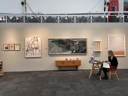 Rabley Gallery  at London Art Fair: Edit, installation view