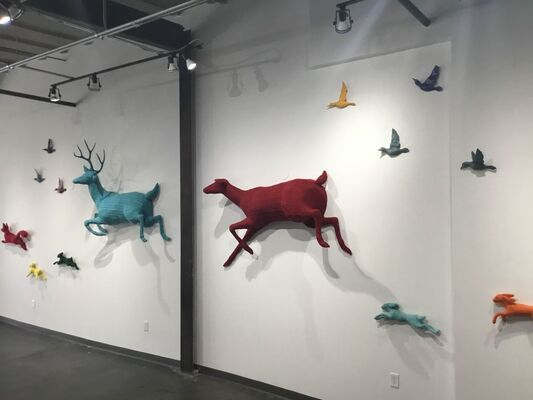 Migration, installation view
