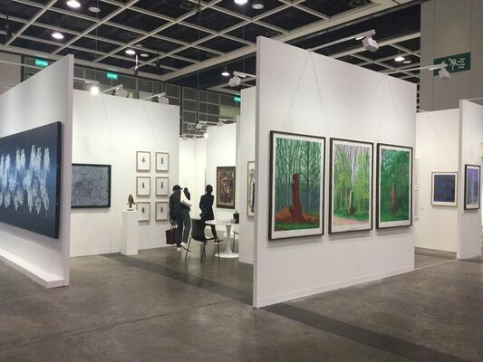 Galerie Lelong & Co. at Art Basel in Hong Kong 2018, installation view