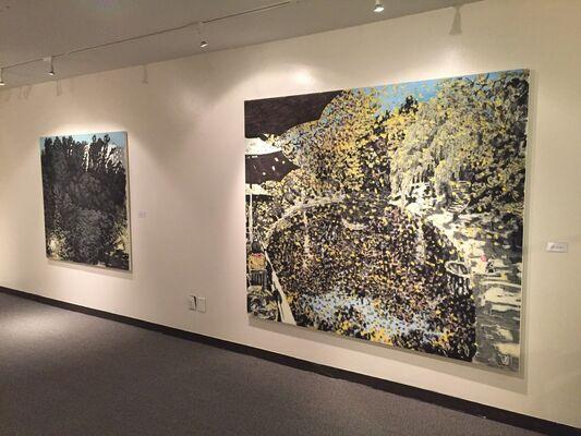 Breath of Life: Paintings by Yoo Geun Taek, installation view