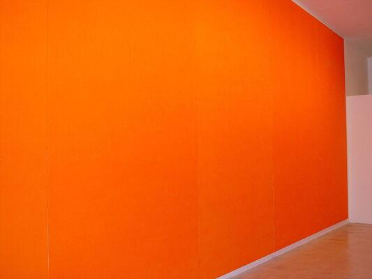 Olivier Mosset, installation view