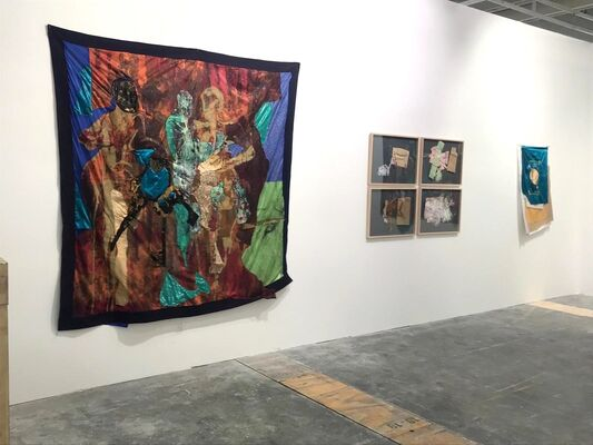 OSART GALLERY  at Investec Cape Town Art Fair 2020, installation view