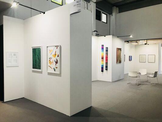 ABC-ARTE at WOPART Lugano 2018, installation view