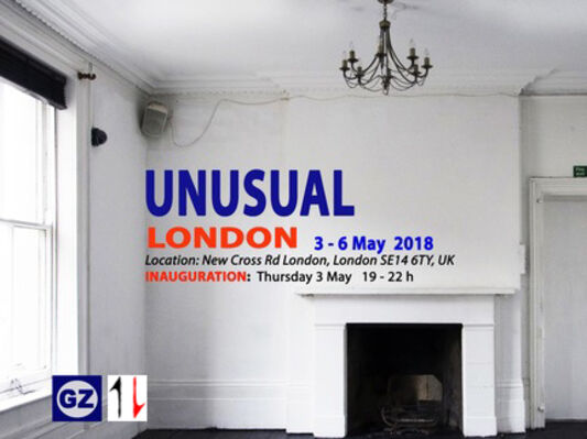 """""""Unusual"""" (partnered with GaleriaZero), installation view"""