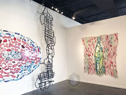 Churn Dash : Solo Exhibition by Caroline Lathan-Stiefel, installation view