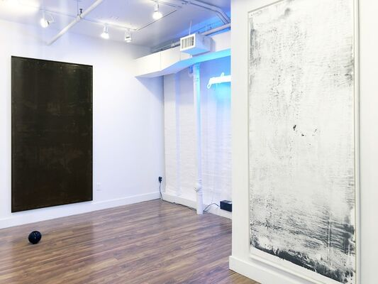 A Leather Jacket To Hold The Soul, installation view
