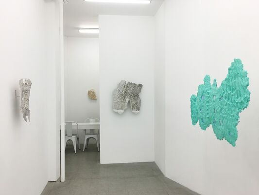 "Eleanna Anagnos, ""Mother Tongue"", installation view"