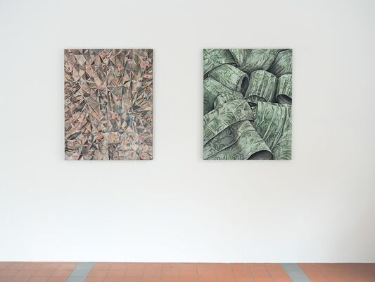 Mona Ardeleanu. The Fold, installation view