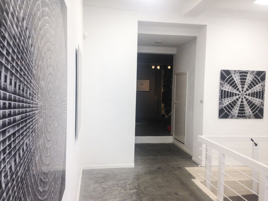 BETWEEN THE WALLS OF UTOPIA, installation view