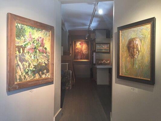 Ben Fenske Solo Exhibition, installation view