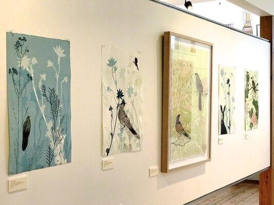 Drawings in the Sun, installation view