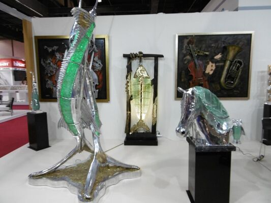 The Athens Gallery at Art Dubai 2016, installation view