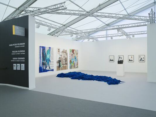 Simon Lee Gallery at Frieze London 2016, installation view