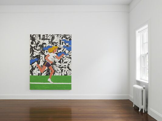 Robert Colescott, installation view