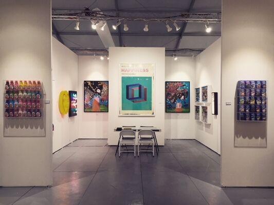 Rhodes at Scope Miami Beach 2017, installation view