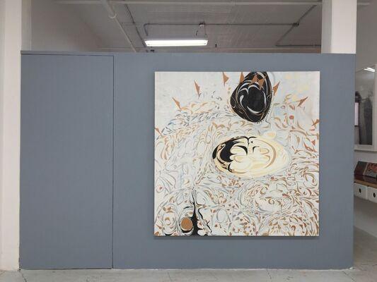 RICHMOND BURTON: I AM Paintings (the return), installation view