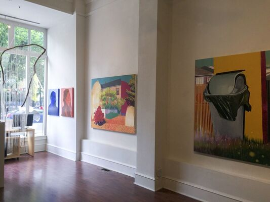 4th Annual Emerging Talent, installation view