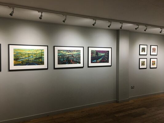 GAIL BRODHOLT: POETRY, PROSE & PRINT, installation view