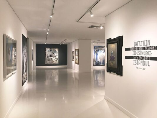Projections of the West: Istanbul, installation view